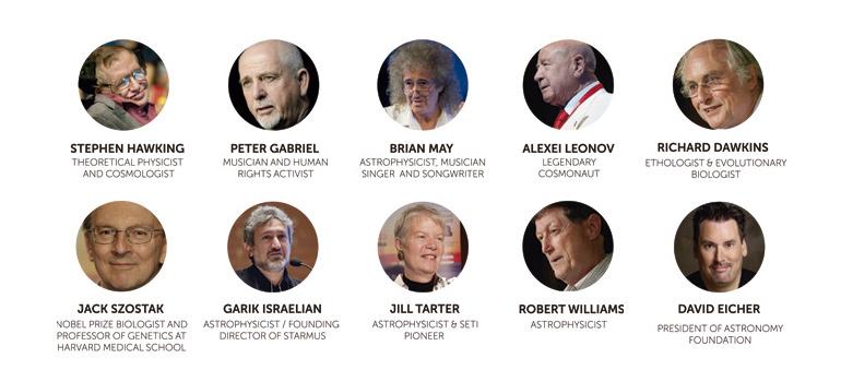 Starmus Advisory Board