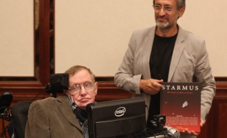 Starmus Book Presentation-Stephen Hawking and Garik Israelian-Southampton 7-09-2014-Comp