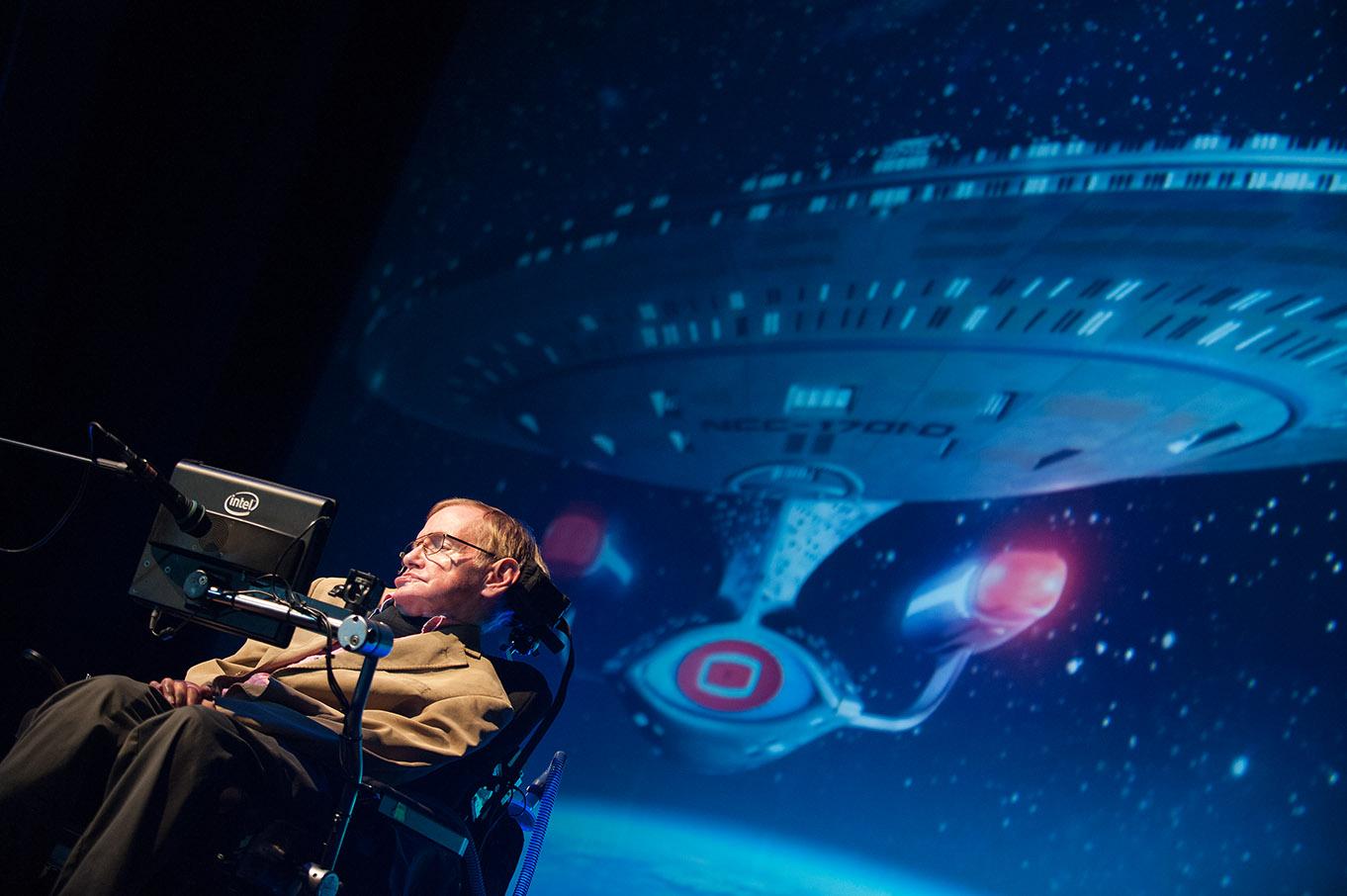 Stephen Hawking (Starmus 2014)