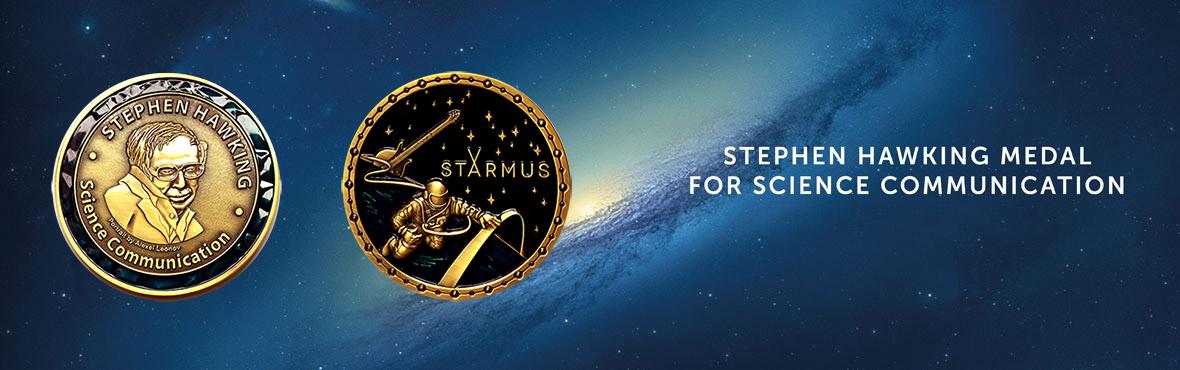 starmus medal hawking