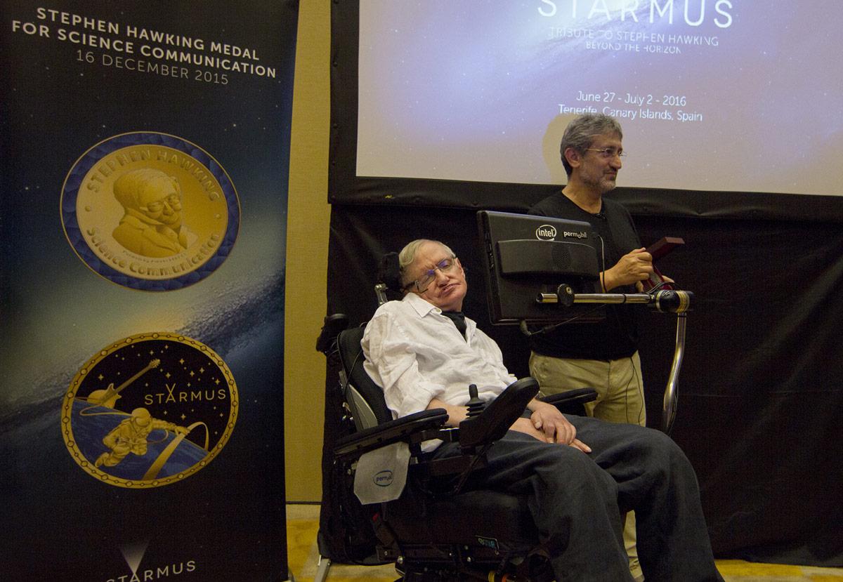 Entrega Medalla Hawking