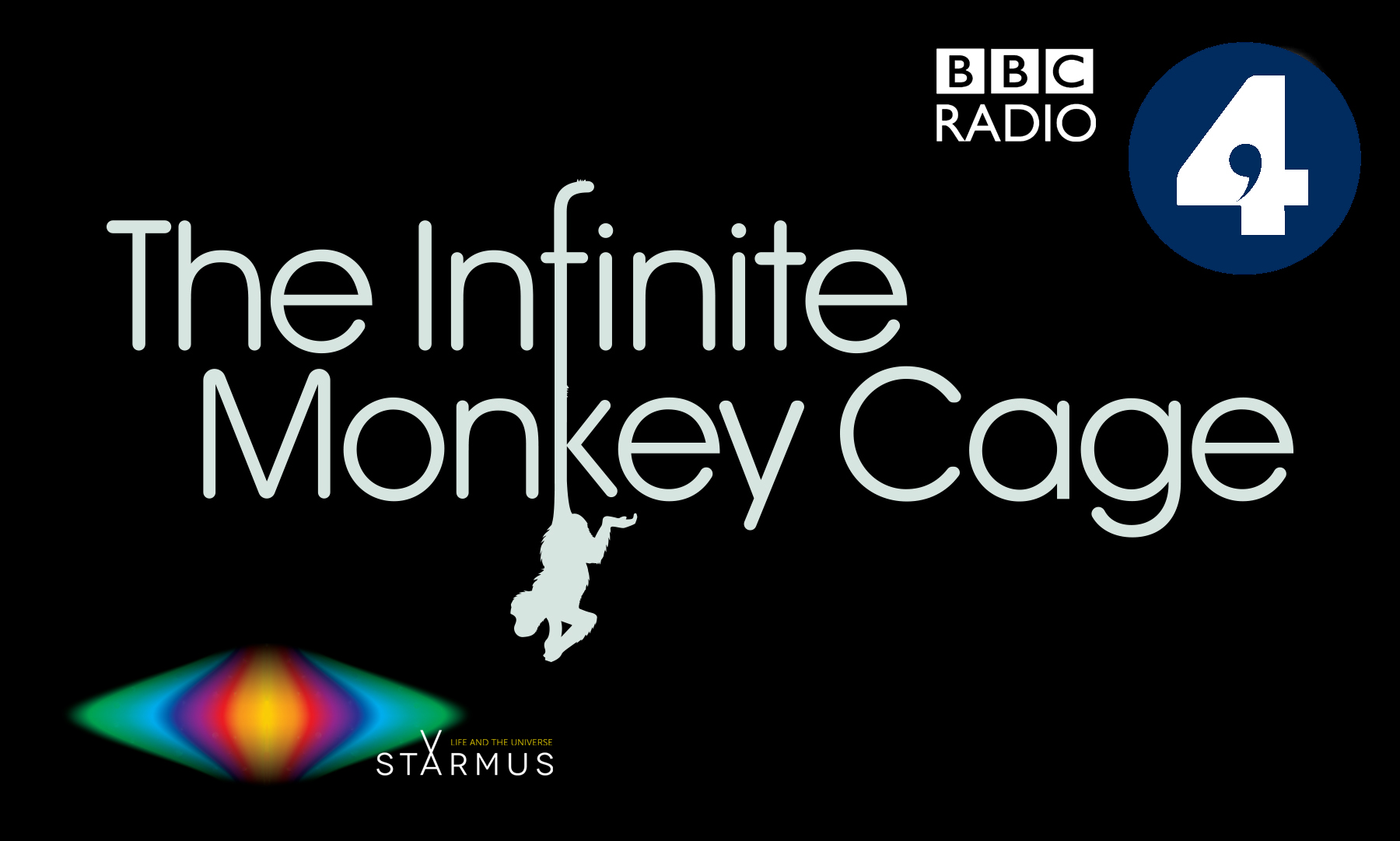 Brian Cox & Robin Ince to host Radio 4's The Infinite Monkey Cage at Starmus