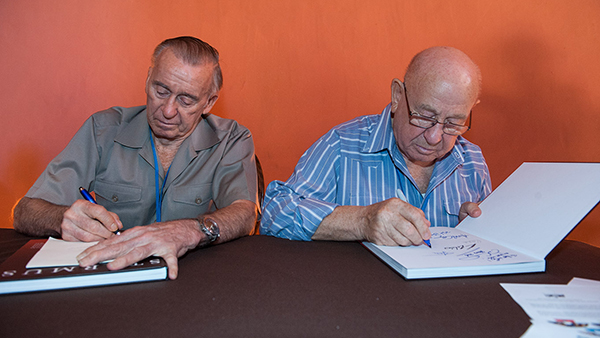 Starmus book signing